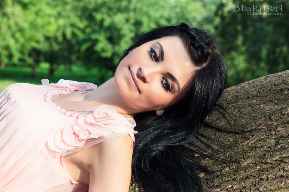 Helena in sunshine
