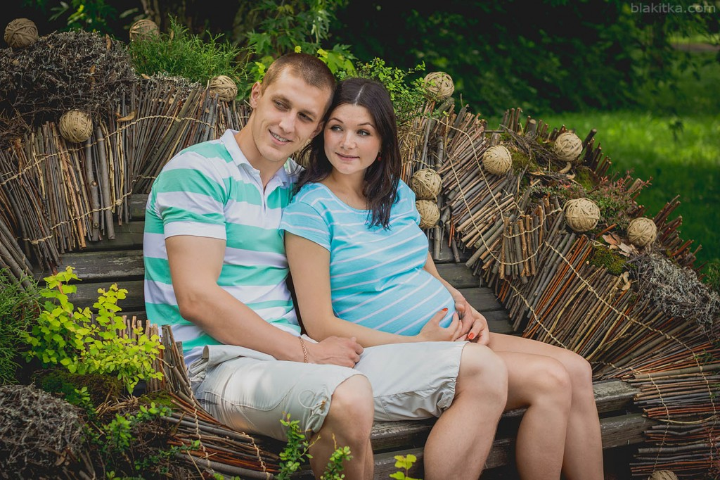 Photo of pregnance couple waiting pregnansy pregnant girl