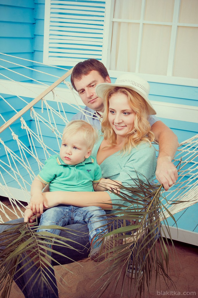 photo white family sand hammock beach studio minsk